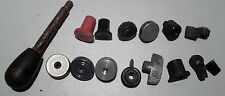 Cast iron and plastic knobs and handles, lot of 15_4703/9