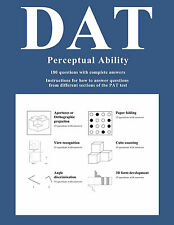 Perceptual Ability Test (PAT) Study Guide for Dental Admission Test (DAT)