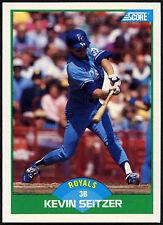 Kevin Seitzer, Royals #55 Score 1989 Baseball Card (C380)
