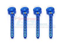 Traxxas XO-1 Supercar Aluminum Front+Rear Adjsutable Magnet Body Posts - Blue