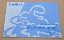YAMAHA NMAX GPD125-A N MAX GPD Manual del Propietario Bedienungsanleitung 2015