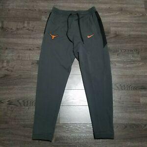 TEXAS LONGHORNS Nike Showtime Basketball Pants Mens 2XL Dri fit Grey Elite RARE