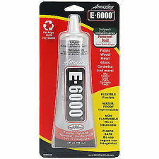 Eclectic Products 237012 E6000 Multi-purpose Adhesive