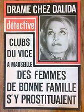 MAGAZINE DETECTIVE N° 1561 / 1976 / DRAME CHEZ DALIDA ! / TRES BON ETAT