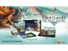 DRIFTLAND THE MAGIC REVIVAL COLLECTOR'S EDITION PC DVD NEW ENGLISH STEAM ARTBOOK