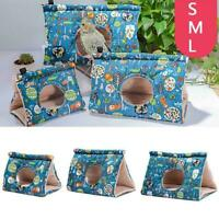 Pet Bird Nest Soft Plush Parrot Bird Warm Hanging Bed Cage Cave Tent Hot V2F4