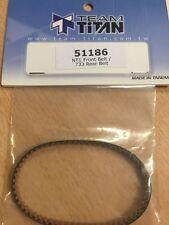 TEAM TITAN KEVLAR RACING BELT FRONT Xray NT1/Serpent 733 51186