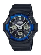 Casio G-Shock Men Watch Black And Blue Chronograph GAW-100B-1A2ER