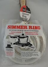 Stovetop Heat Diffuser Simmer Ring for Use on Gas and Electric Ranges  Aluminum