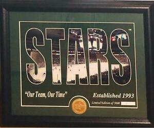 New Dallas Stars Highland Mint 13'x16' Panoramic Bronze Coin Framed ~ #2 of 5000