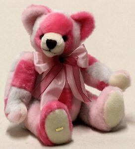 Hermann Spielwaren 'Love and Design' limited edition pink bear - 11891-4