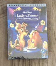 Lady and the Tramp Brand New DVD 2-Disc Platinum Edition Free Shipping Disney