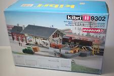Kibri 9302 Gebäudebausatz Güterabfertigung mit Stapler Spur H0 OVP