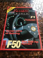Ferrari World Magazine, rare, number 27 uk