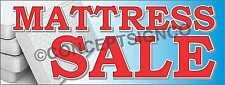 1.5'X4' MATTRESS SALE BANNER Signs Serta Tempur-Pedic Beds Pillowtop Mattresses