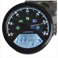 12000RMP Motorcycle LCD Digital Odometer Speedometer Tachometer F1 2 4 Cylinders