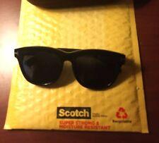 Black Tom Ford Sunglasses Retro thick designer nerdy plastic gold mens womens