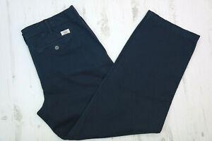 POLO RALPH LAUREN Women's Relaxed Fit Boyfriend Pants, Navy Blue, US 6 , UK 10