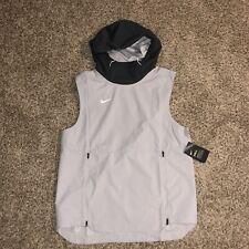 Nike Shield Sleeveless Jacket Men Size 4XL Gray NEW AO5856-007 NWT $145