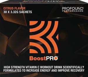 BoostPro™ High strength Vit-C Post Workout recovery Drink