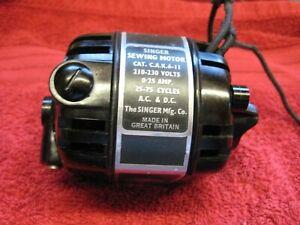 221/222 SINGER FEATHERWEIGHT 240 VOLT MOTOR   ORIGINAL