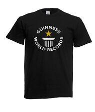 Maglietta T-shirt Nera Personalizzata GUINNESS WORLD RECORDS