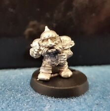 Warhammer Bloodbowl Dwarf 2nd edition Blitzer Player 2 Metal Oop unpainted
