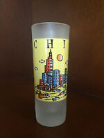 "Chicago 4""  Tall Shot Glass"