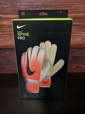 New Nike Spyne Pro Elite Soccer Goalkeeper goalie gloves size 8 (GS3376-100)
