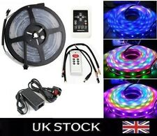 Magic Dream Color RGB LED Strip 5M 6803 IC 133 change+RF +Power for XMAS PARTY
