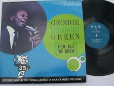 "George ""Stardust"" Green~For All We Know~M&M LM-26 (NM)"