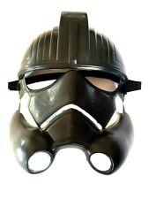 Mascara Stormtrooper de Star Wars negra disfraces careta cine pelicula animacion