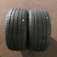 2x Michelin Latitude Sport 3 ZP * 275/40 R20 106W 3518 7 mm Runflat Sommerreifen