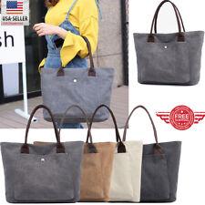 YOLANDO Women Canvas Bags Handbag Shoulder Hobo Purse Messenger Tote Bag T0045