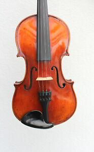 """Old used violin labeled: """"G. Fiorini """" very old Look ! violin バイオリン 小提 скрип"""