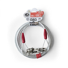 New listing 30 ft Heavy Duty Extra-Large Dog Pet Tie Out Cable Long Leashes Run Steel Strong