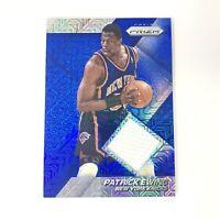 NBA 2014-15 Panini Prizm Mojo Patrick Ewing Jersey Card Knicks