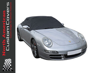 RP232 Porsche 911 996 997 Convertible Soft Top Roof Half Cover - 1999 to 2011