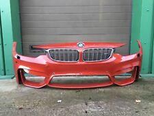 BMW M3 M4 F80 F82 2014+ FRONT BUMPER USED PART