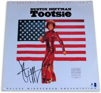 Dustin Hoffman Signed Autographed Laserdisc Cover Tootsie w/Discs JSA U07936