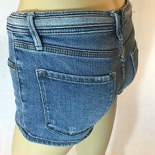 Womens denim Shorts Rozy Size 3 26 draw strings cute dilliards juniors