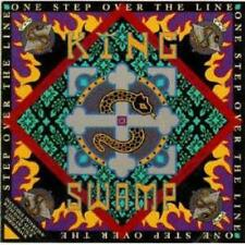 King Swamp: One Step Over The Line PROMO w/ Artwork MUSIC AUDIO CD Interview 5tk