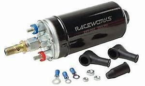Raceworks 250LPH External Fuel Pump EFP-506