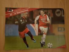 AZ Alkmaar v SC Heerenveen 26-02-2012 paper hand clapper / voetbalklapper