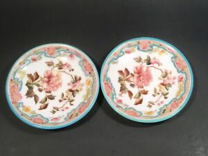 Antique George Jones Butter Pats c.1873-1929  Set of 2