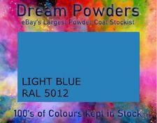 RAL 5012 LIGHT BLUE  gloss matt satin Powder Coat Coating Alloy Wheel