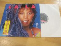 Maxi Single LP La La My Love is on the Money Vinyl Schallplatte ARISTA 609 406
