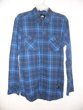 """Quiksilver Men's L/S Flannel """"Everyday Flannel"""" BYJ2 - Small - NWT"""