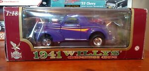 Road Legends 1941 Willy's Coupe Diecast Scale 1:18