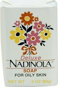 Deluxe Nadinola Bar Soap ~ Helps Tone Fade Dark Spots ~ Oily Skin ~ 3oz ~ NEW!!!